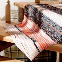 Готовый полосатый коврик