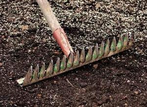 Разравнивание почвы