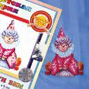 Клоунский костюм для детского стула. Шаг 1