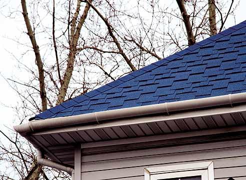 Крыша крытая металлочерепицей