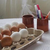 красим яйца Лаптева