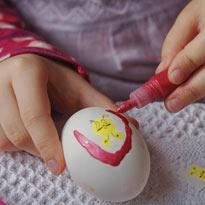 красим яйца дизайнер Лаптева