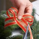 Рождественский венок. Шаг 1