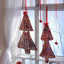 Плетеная елка