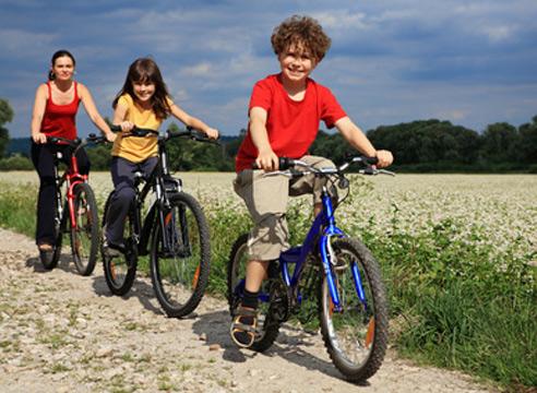 фото дети на велосипедах