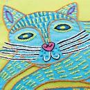 Чехол для подушки с вышивкой кошки. Шаг 6