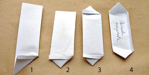 Как сделать бумажные пакетики 53
