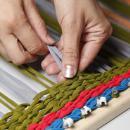 Плетение коврика из трикотажа. Шаг 3