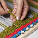 Плетение коврика из трикотажа. Шаг 4