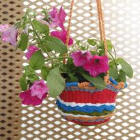 Трикотажное Кашпо для цветов