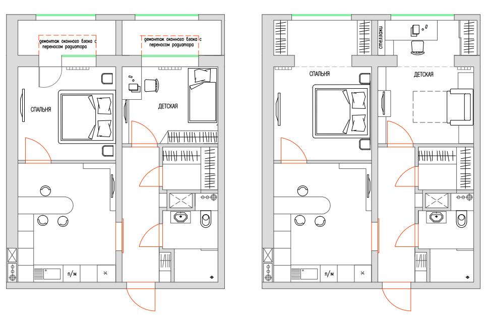 Проект объединения балкона. - фото отчет - каталог статей - .