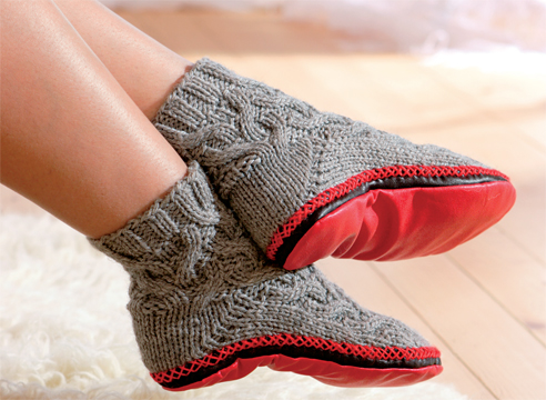 Как связать носки спицами своими руками