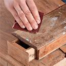Реставрация старой мебели: тумба. Шаг 1
