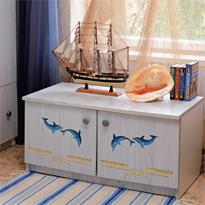 Декор шкафчика в морском стиле