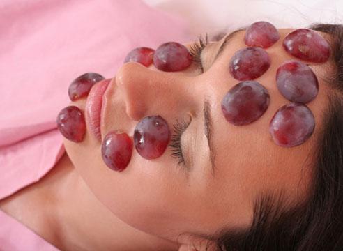 Использование винограда в косметических целях