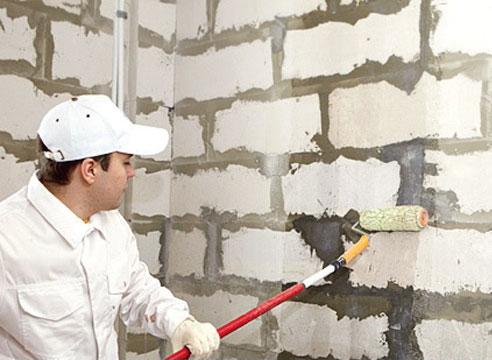 Шпатлевка стен по маякам мастер класс поделка #2
