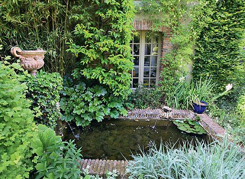 Сады Франции, городская усадьба