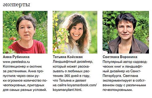 Эксперты: Анна Рубинина, Татьяна Койсман, Светлана Воронина