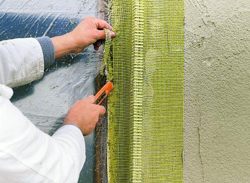 Штукатурные системы утепления фасадов. Мастер-класс