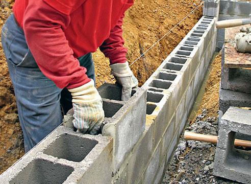 Строительство из бессер-блоков
