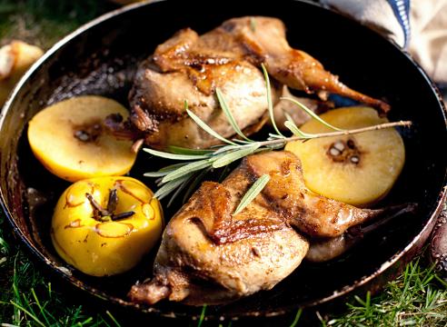 Айва полезные свойства, Курица с айвой и розмарином