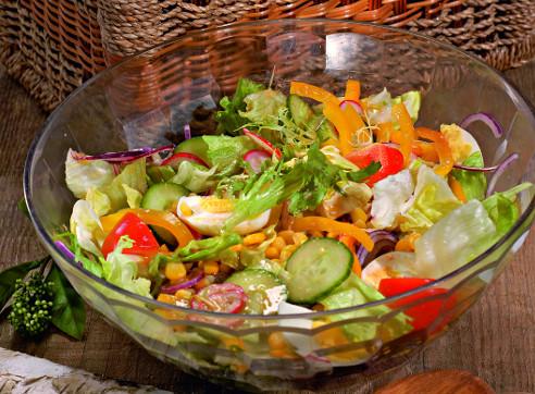 кулинарный прогноз на 2015 год, зеленый салат