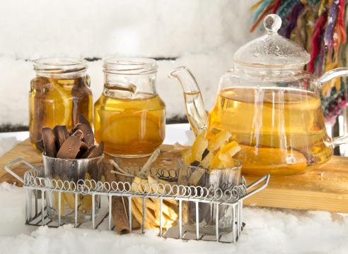 крещенское купание; полезные напитки для зимы