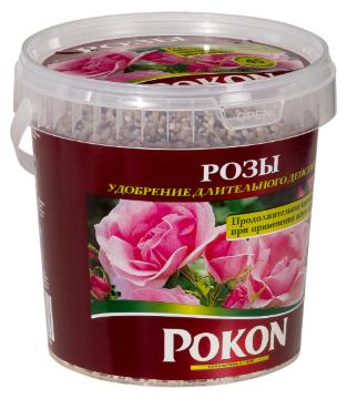 Удобрение гранулированное Pokon SR Rose 900gr