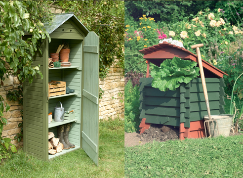 деревянные конструкции в саду, идеи для дачи