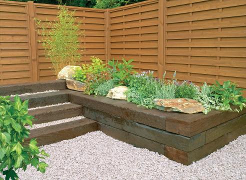 идеи для дачи, садовый дизайн, приподнятый цветник, высокая грядка