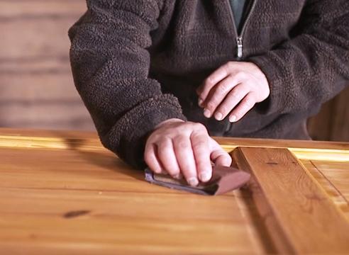 защитная пропитка для внутренних работ, обработка деревянной поверхности