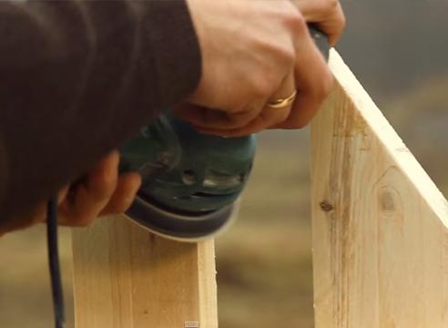 как обновить забор, пропитка для дерева Pinotex