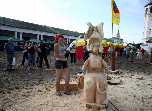 Праздник топора в Суздале 2015