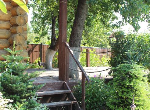 Сад Екатерины Локшиной, идеи для сада, баня, дизайн сада, терраса, Площадка для отдыха около бани