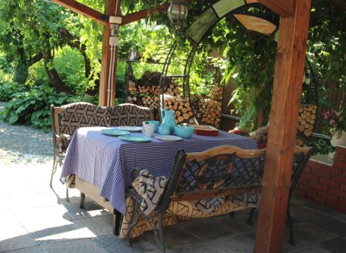 Сад Екатерины Локшиной, идеи для сада, дизайн сада, садовые постройки, Летняя кухня
