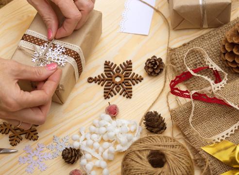 scrapbook, скрапбукинг, новый год, рождество, своими руками, подарки