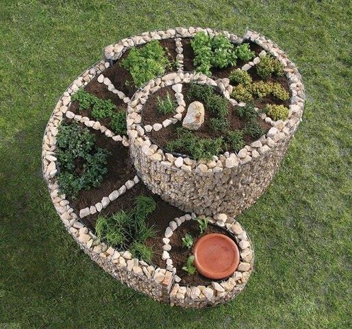 Спирали для ландшафтного дизайна