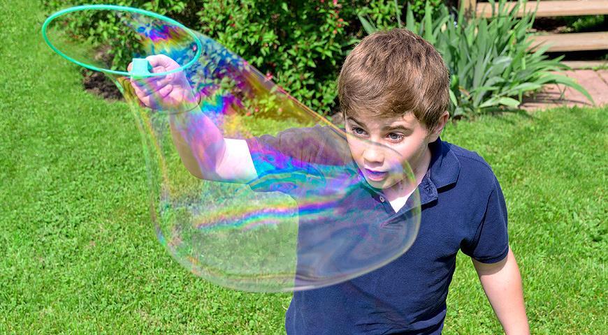 Шоу мыльных пузырей мастер класс пошагово #8