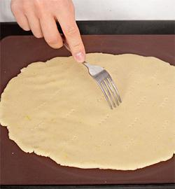Пирог с творожной начинкой и малиной. Шаг 2
