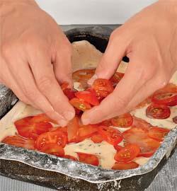 Летний пирог с помидорами. Шаг 5