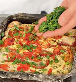 Летний пирог с помидорами. Шаг 6