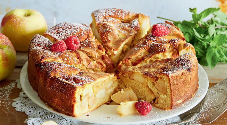яблочный пирог шарлотка в духовке рецепт с фото
