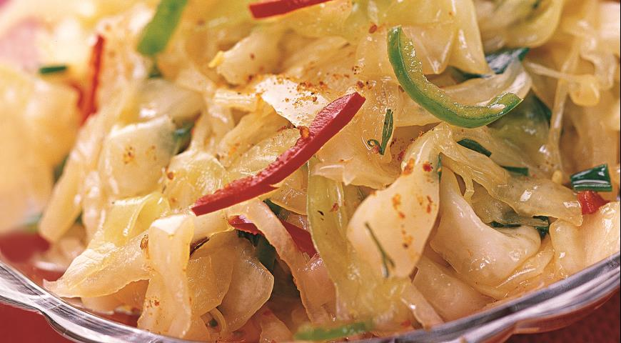 салат из капуста по корейски рецепт в домашних условиях