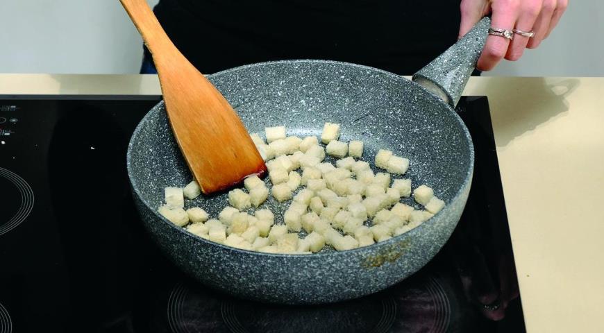 Тыквенный суп с беконом. Шаг 5
