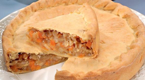 Тыквенный пирог / Пирог с тыквой