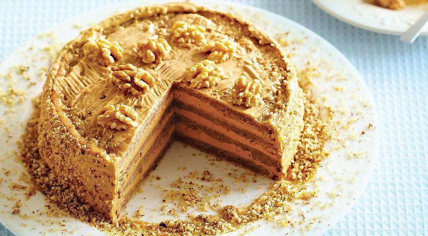 Торт с вареной сгущенкой рецепт с фото пошагово быстро