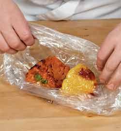 Запечённая в духовке шейка с овощами и грибным соте. Шаг 4
