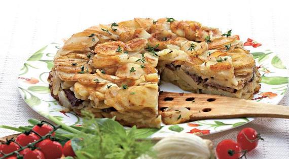 Картофель Анна со свининой
