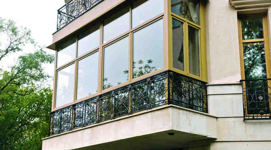 Остекление балконов арсенал где застеклить балкон омск