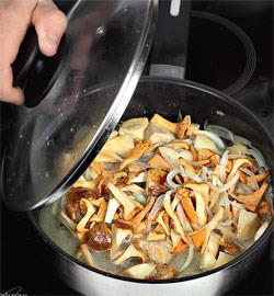 салаты с лесными грибами с пошаговым фото